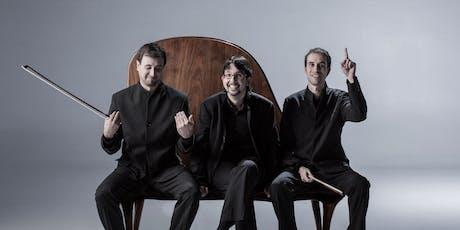 """""""Arrels"""", Trio Pedrell entradas"""