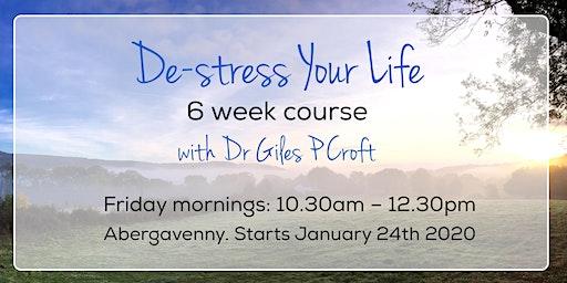 De-Stress Your Life (6 week course)
