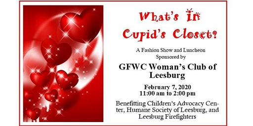 What's in Cupid's Closet? Woman's Club of Leesburg Annual Luncheon & Fashion Show