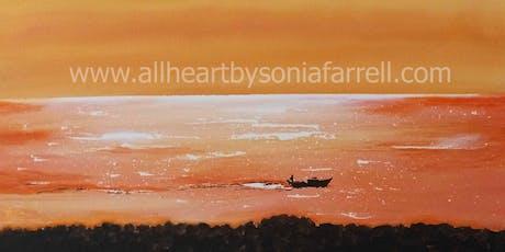 'Liquid Gold' Art Experience with  Sonia Farrell: Creative Hearts Art tickets