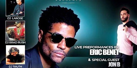 W-HOTS SUPER BOWL KICK OFF PARTY WITH A PERFORMANCE BY ERIC BENET & JON B tickets