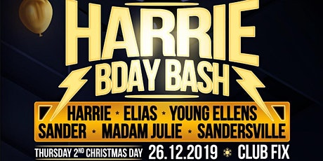 Harrie Bday Bash W/ Young Ellens, Sander and many more! tickets