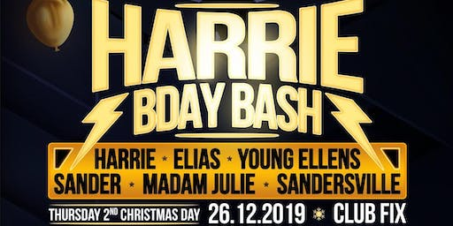 Harrie Bday Bash W/ Young Ellens, Sander and many more!