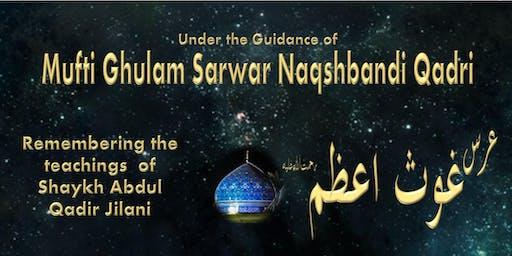 Urs of Shaykh Abdul Qadir Jilani including Burdah Recital