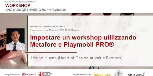 Impostare un workshop utilizzando Metafore e Playmobil PRO