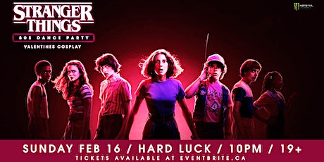Stranger Things - 80s Dance Party tickets