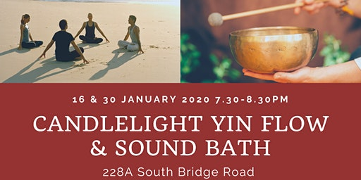 CANDLELIGHT YIN FLOW & SOUND BATH