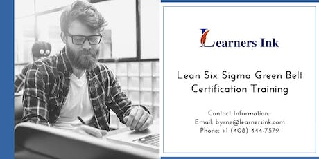 Lean Six Sigma Green Belt Certification Training Course (LSSGB) in Hobart tickets