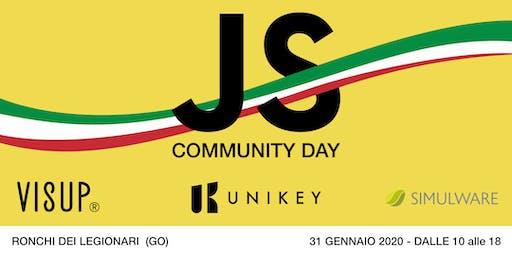 JAVASCRIPT COMMUNITY DAY (Edizione FVG)