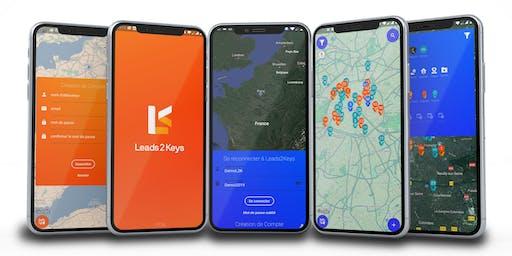 Présentation  #2 LEADS2KEYS la 1ère app mobile de prospection immobilière