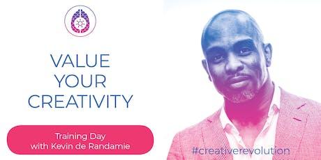 Value Your Creativity - met Kevin de Randamie tickets