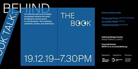 Book Talk: Behind The Book tickets