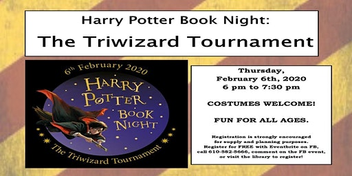 Harry Potter Book Night: The Triwizard Tournament