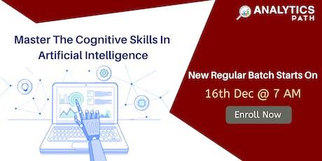 New Regular Batch On AI Training By Analytics Path Scheduled 16th Dec 7 AM tickets