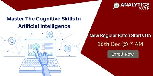 New Regular Batch On AI Training By Analytics Path Scheduled 16th Dec 7 AM