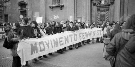 Femminismo e Memoria biglietti