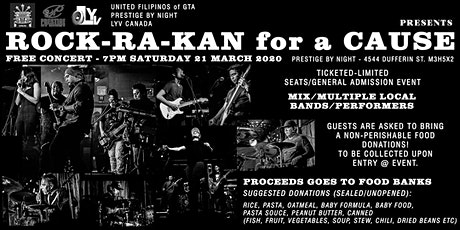 ROCK-RA-KAN FOR A CAUSE tickets