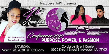 4th Annual Women in Purpose Conference tickets