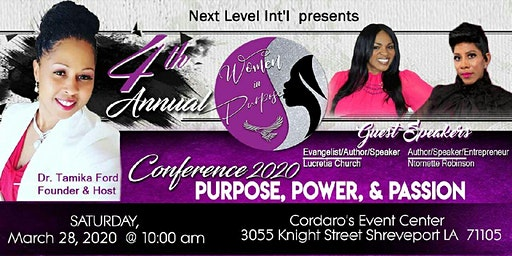 4th Annual Women in Purpose Conference