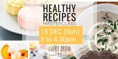 Healthy Cooking Healthy Living tickets