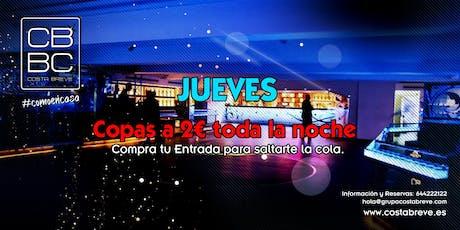 Jueves 12/12 - COPAS 2€ (+18) entradas