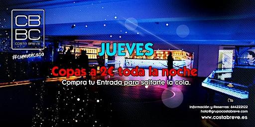 Jueves 12/12 - COPAS 2€ (+18)