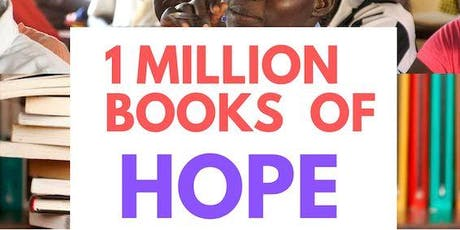 1 million books of hope fundraiser tickets