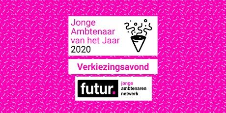 Jonge Ambtenaar van het Jaar 2020 - Verkiezingsavond tickets