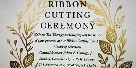 Wellness Ribbon Cutting Ceremony tickets