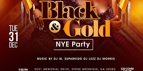 BLACK & GOLD NYE PARTY tickets