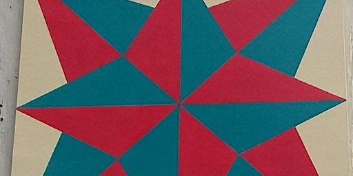 2 Day Intermediate Barn Quilt Painting Workshop - with Linda Otey