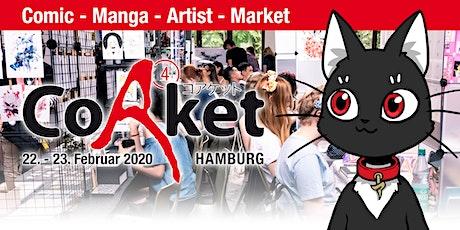 CoAket 04: Manga / Comic / Cosplay / Japan Convention tickets