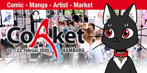 CoAket 04: Manga / Comic / Cosplay / Japan Convention