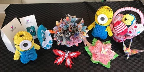 3D Origami Workshop  - Fun School Holiday Activity For Kids & Parents tickets