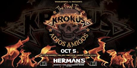 KROKUS (Farewell Tour) tickets