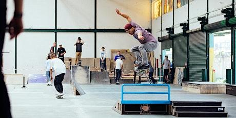 Gleis D:  Skateboard-Workshop für Anfänger! tickets