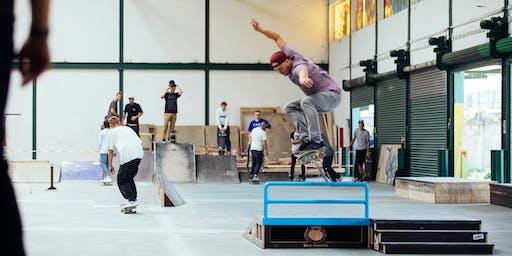 Gleis D:  Skateboard-Workshop für Anfänger!
