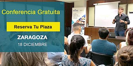 Conferencia GRATIS Zaragoza:Si supieras que no vas a fracasar,¿qué harías? tickets