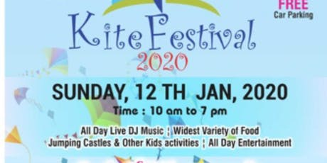 Kite Flying Festival @ Castlehill Showgrounds 12 Jan 2020 tickets