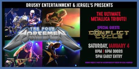 The Four Horsemen - A Tribute to Metallica tickets