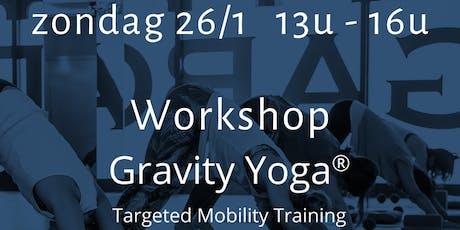 Workshop Gravity Yoga : Rug tickets