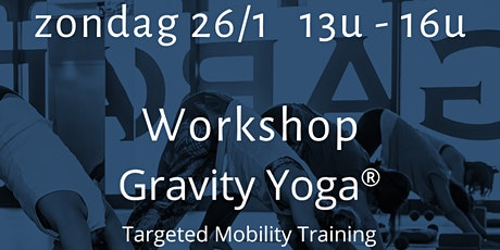 Workshop Gravity Yoga : Rug tickets