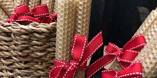 Holiday Beeswax Candles Make+Take W/ Annie Dawson