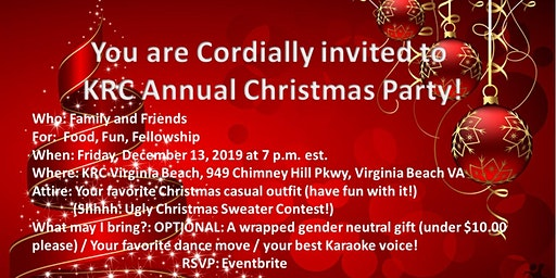 KRC 2019 Annual Christmas Party