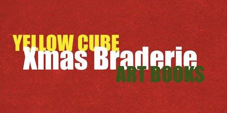Yellow Cube Xmas Braderie - ART BOOKS tickets