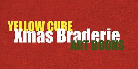 Yellow Cube Xmas Braderie - ART BOOKS billets