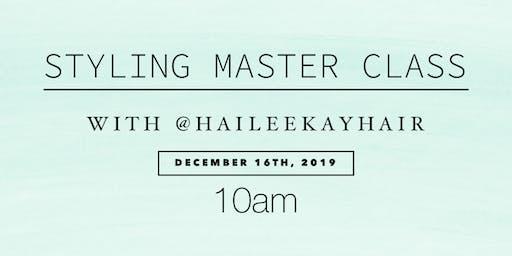 Styling Master Class