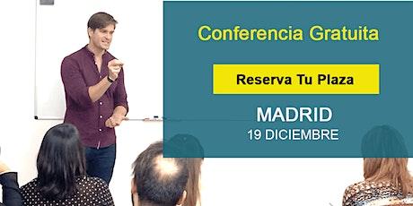 Conferencia GRATIS Madrid: Si supieras que no vas a fracasar, ¿qué harías? entradas