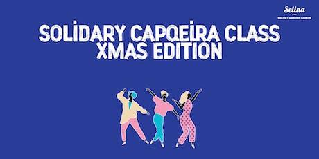 Solidary Capoeira Class bilhetes