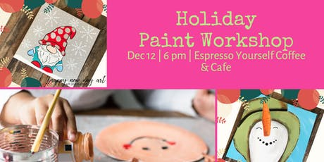Paint Party at Espresso Yourself tickets